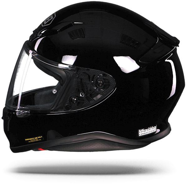 Shoei NXR gloss black, maat XS OUTLET