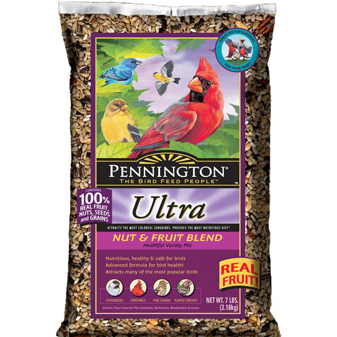 Pennington 7 LB Ultra Nut & Fruit Blend