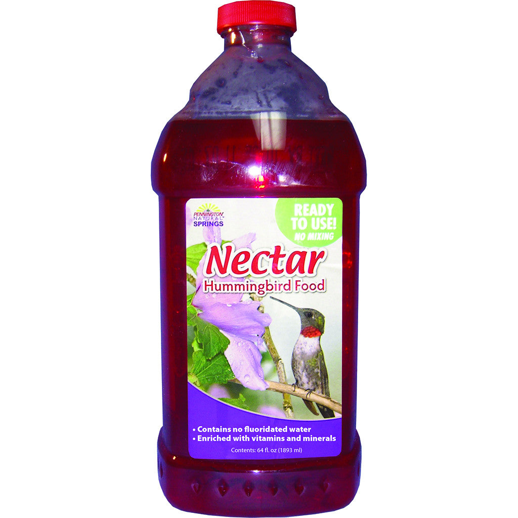 Pennington 64 OZ Red Natural Springs Liquid Ready to Use Nectar
