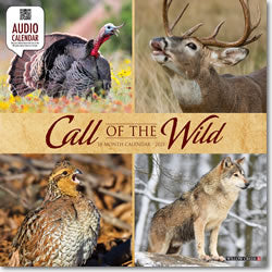 Call of the Wild 2021 Wall Calendar