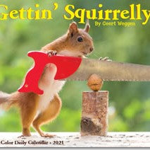 Gettin' Squirrelly 2021 Box Calendar