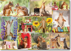 Gettin' Squirrelly 1000-Piece Puzzle