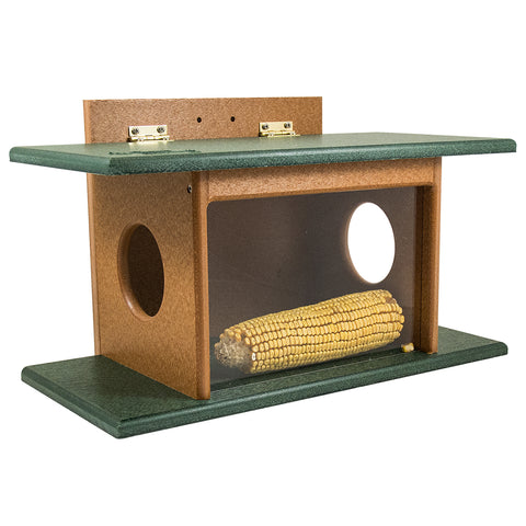 Squirrel House Feeder