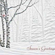 Pumpernickel Press Serene View Holiday Card 16/Box