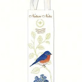 Alice's Cottage 3.5 IN X 13.5 IN Bluebird Bottle Caddy