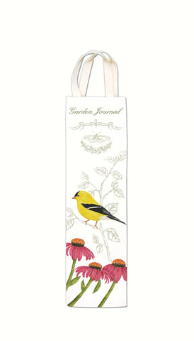 Alice's Cottage 3.5 IN X 13.5 IN Goldfinch Bottle Caddy