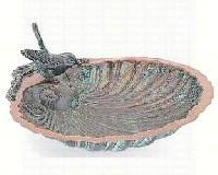 Achla Designs 11 IN Scallop Shell Bird Bath