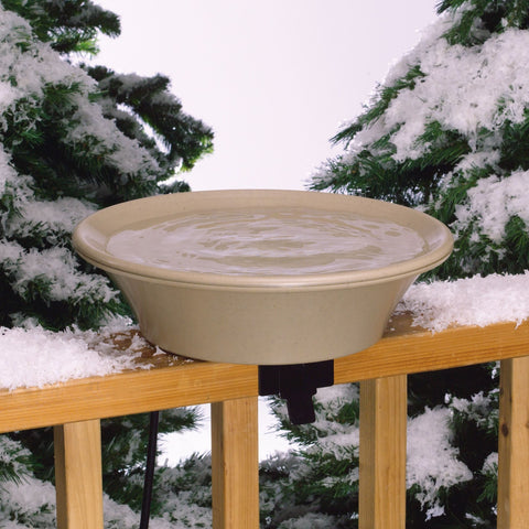 Allied Precision 14 IN Heated Deck/Pole Bird Bath