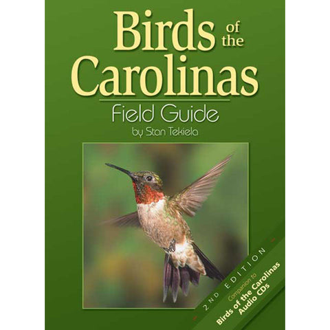 Carolinas Birds 2nd Edition Field Guide