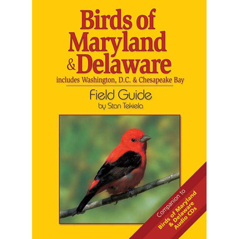 Maryland and Delaware Birds Field Guide