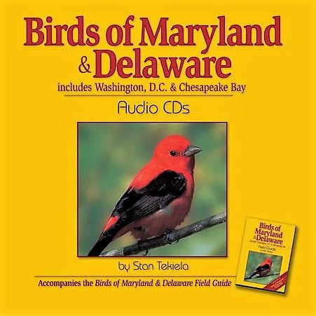 Birds Maryland and Delaware Audio CD