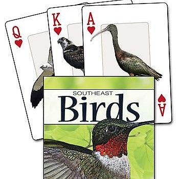 Birds of the Southeast Playing Cards
