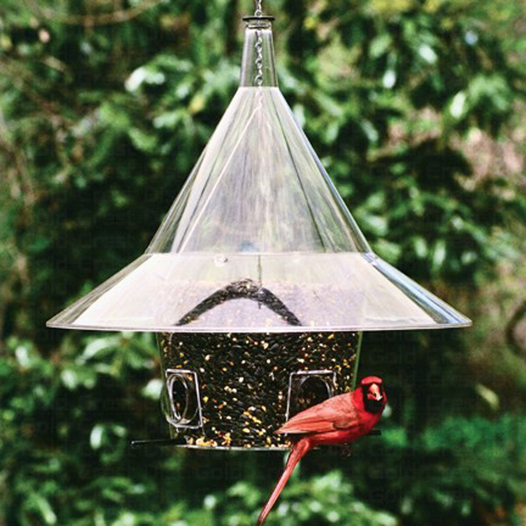 Arundale 17 IN Dome Mandarin Squirrel-proof Bird Feeder