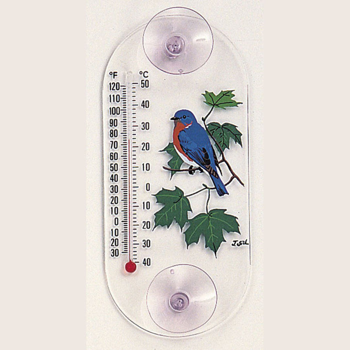 Aspects Bluebird /Maple Window Thermometer