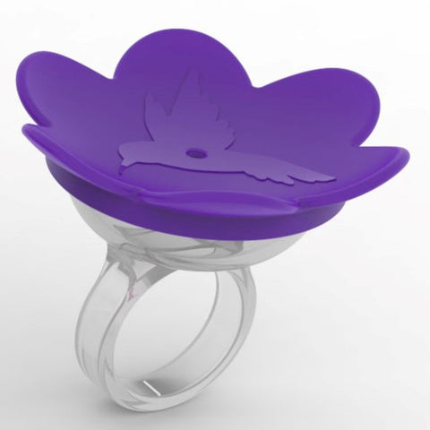 Purple Hummer Ring