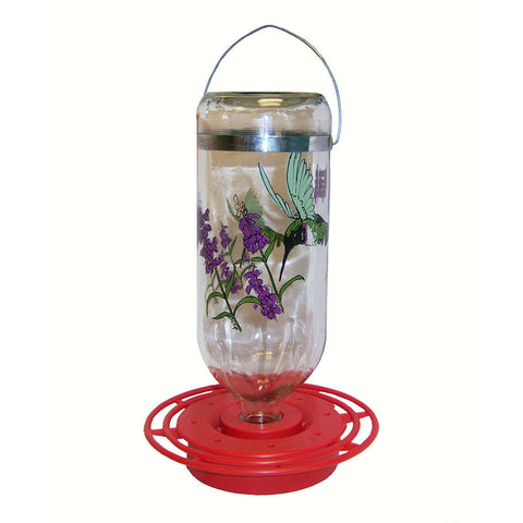 Best-1 32 OZ Black Chinned Hummingbird Feeder