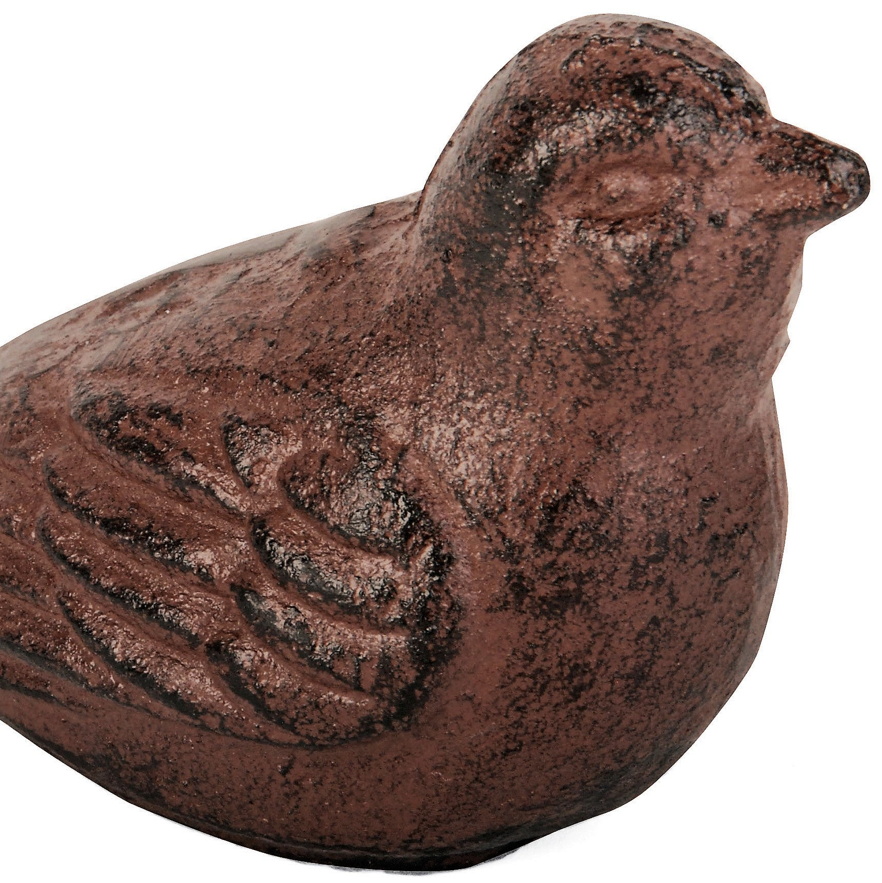 Cast Iron Antique Brown Bird Door Stop