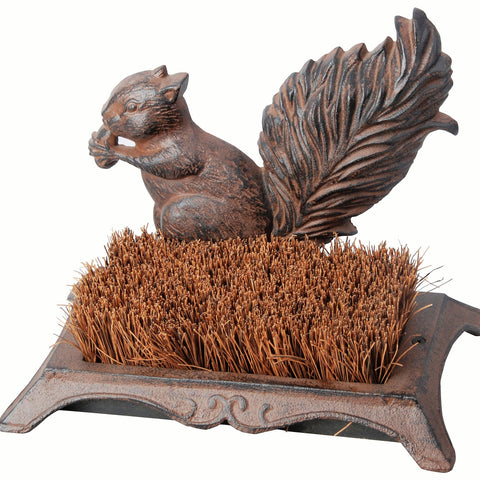 Cast Iron Squirrel Boot Brush