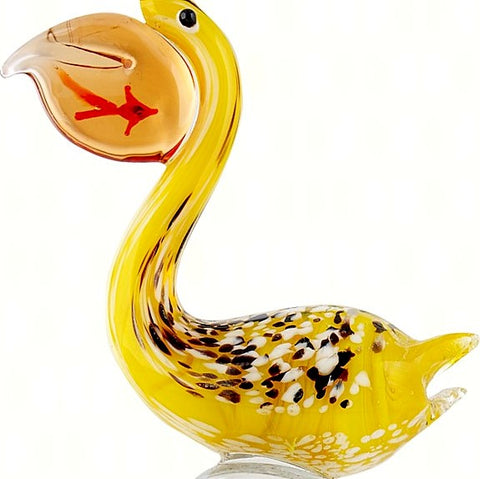 Pelican Glass Bottle Stopper