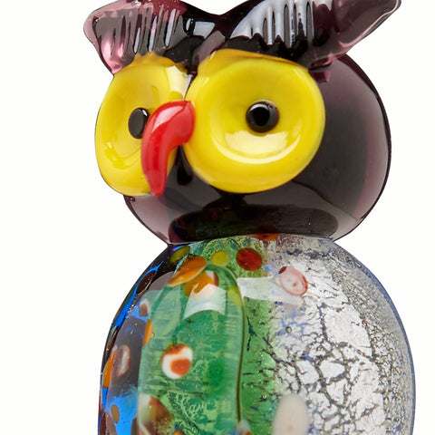 Owl Glass Bottle Stopper