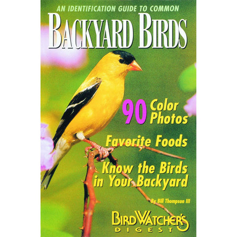 An Identifying Guide To Common Backyard Birds Booklet