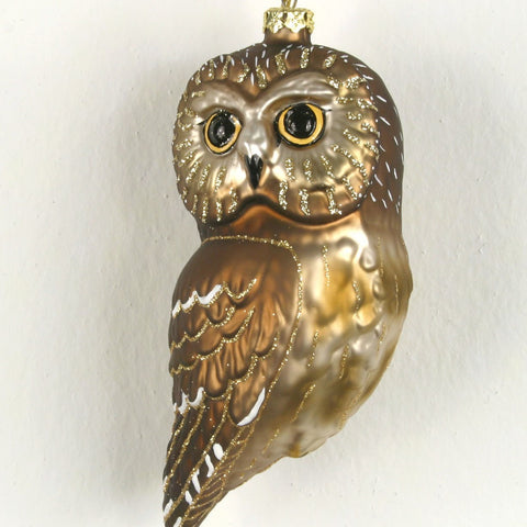 Northern Saw Whet Owl Ornament