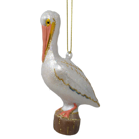 White Pelican Ornament