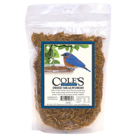 Cole's Wild Bird Products Dried Mealworms