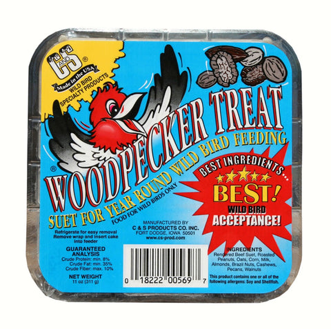 11 OZ Woodpecker Treat