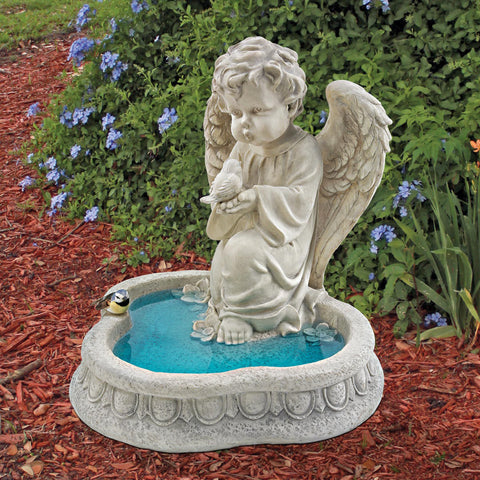 Design Toscano Angel of Peace Reflecting Pool Sculpture