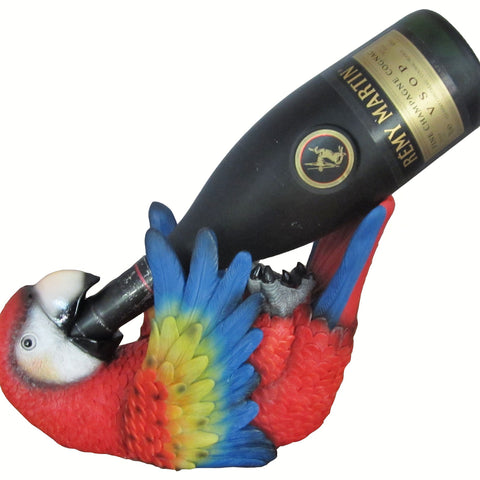 Parrot Designed Wine Holder