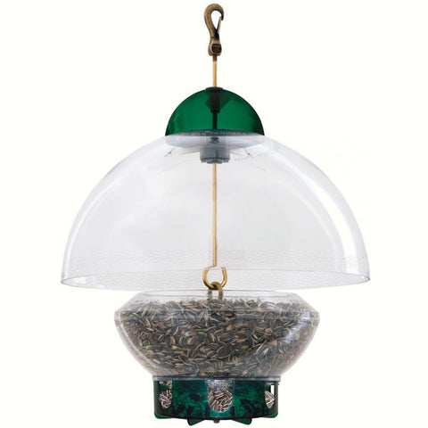 Droll Yankee Big Top Bird Feeder New Green Parts