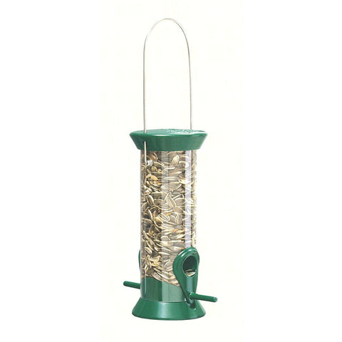 Droll Yankee 8 IN Green Sunflower Feeder
