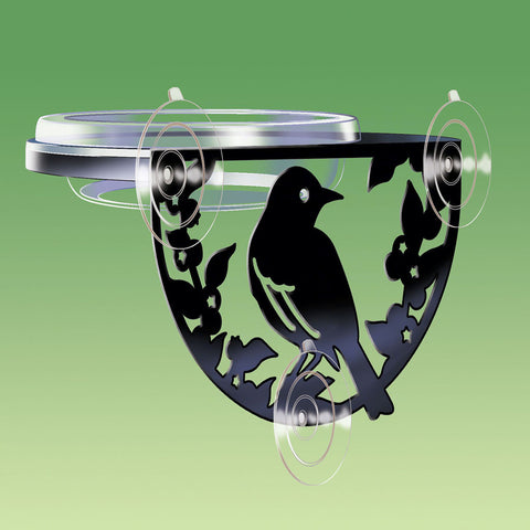 Droll Yankee Window-Mount Songbird Feeder