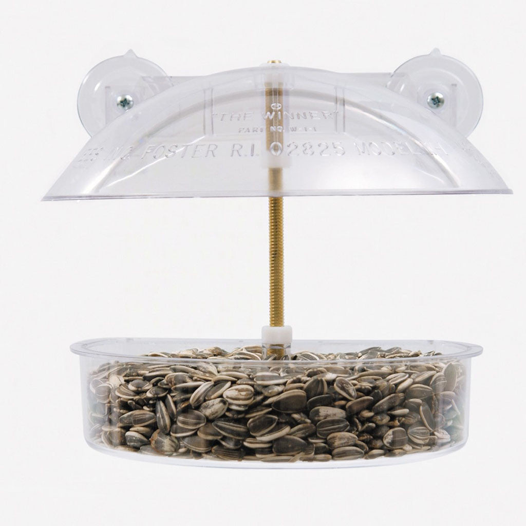 Droll Yankee Window Birdfeeder