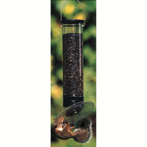 Droll Yankees Tipper 21 IN 5 LB 360 Degree 8 OZ Weight Sensitive Tube Bird Feeder