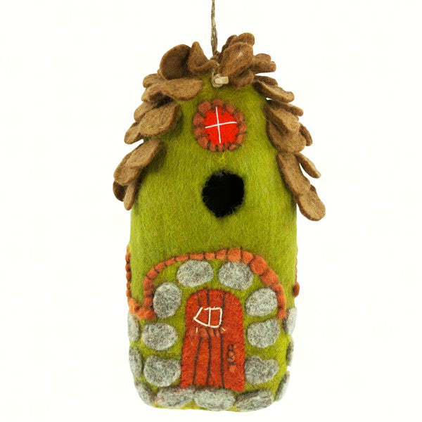 Forest House Felt Birdhouse