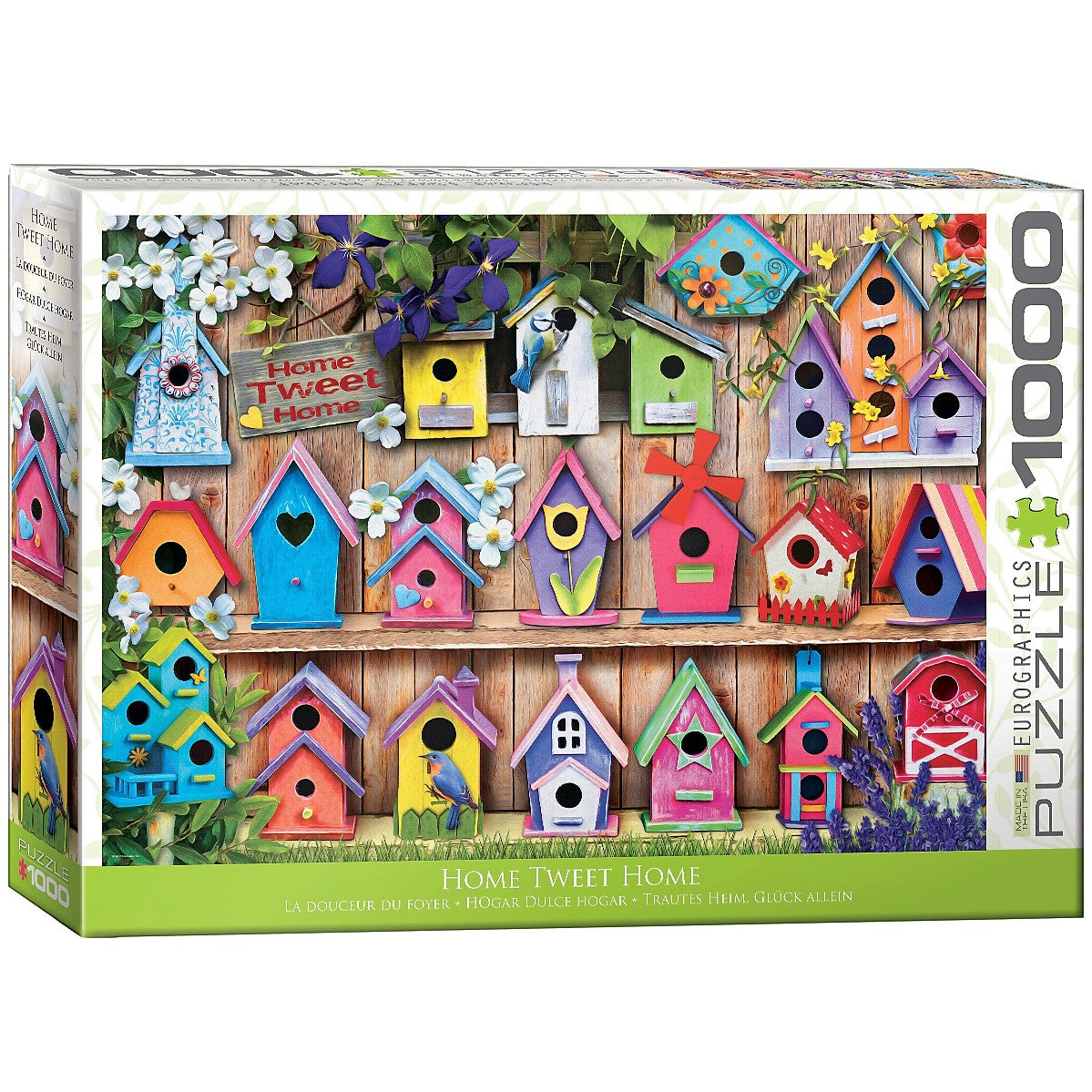 1000 Piece Home Tweet Home Puzzle