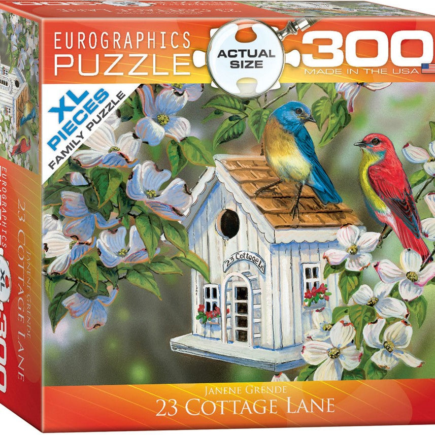 300 Piece 23 Cottage Lane XL Puzzle