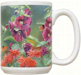 15 OZ Hummingbird Mug