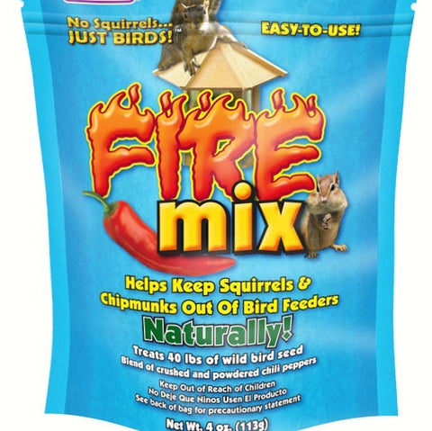4 OZ Squirrel Fire Mix