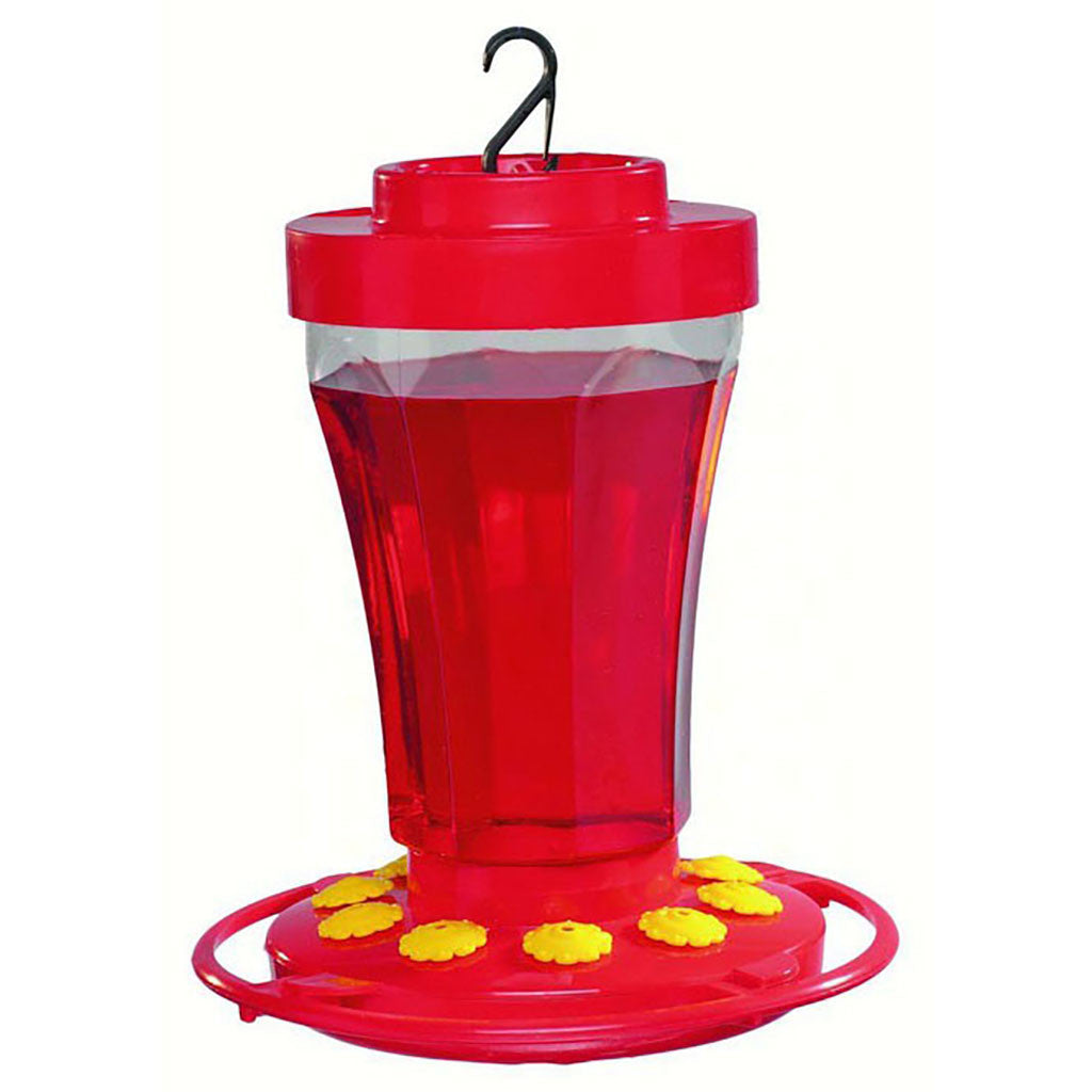 First Nature 32 OZ Hummingbird Flower Feeder