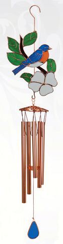 Bluebird Large Wind Chime