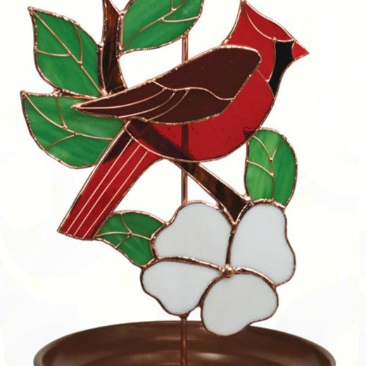 Cardinal Design Bird Feeder