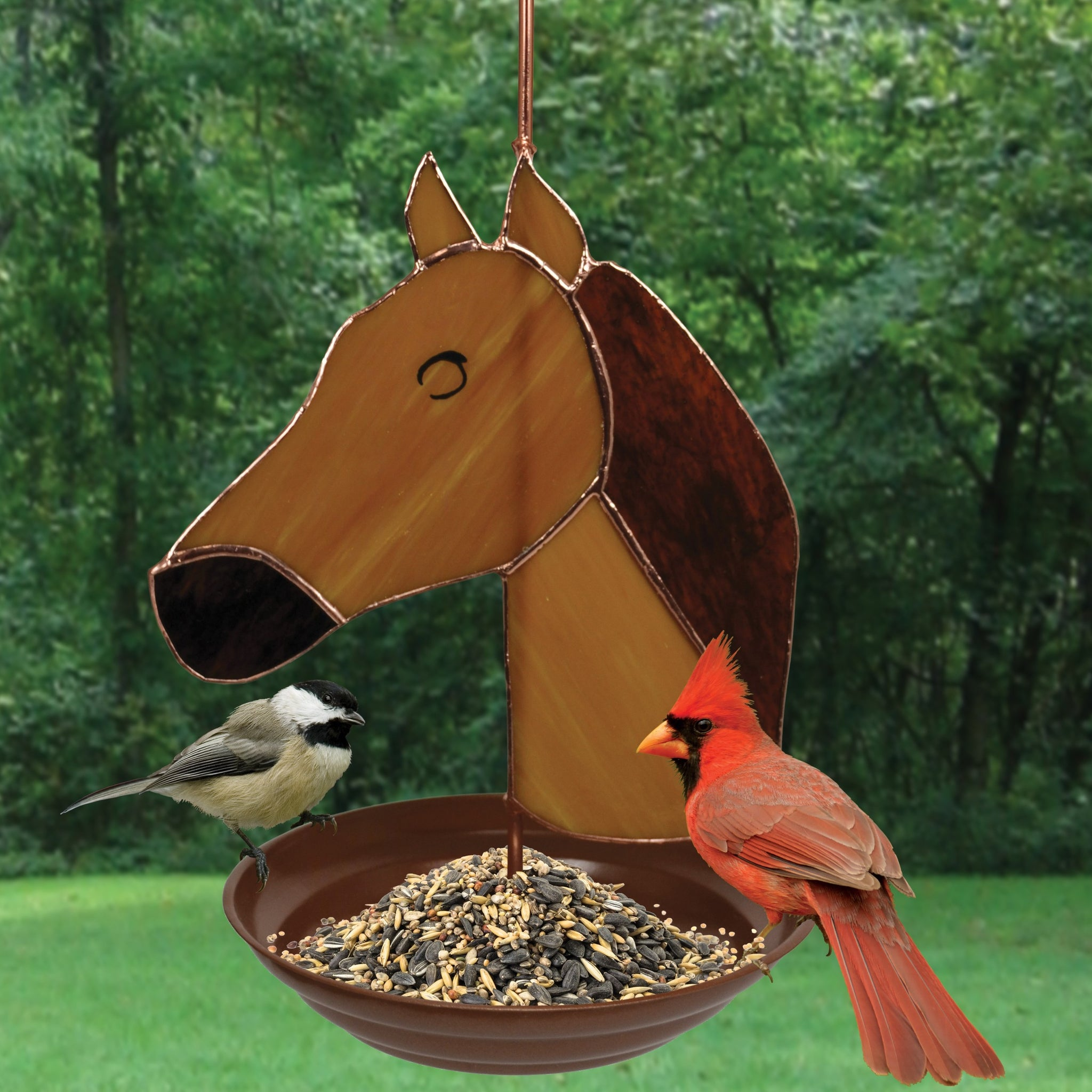 Horse Design Bird Feeder