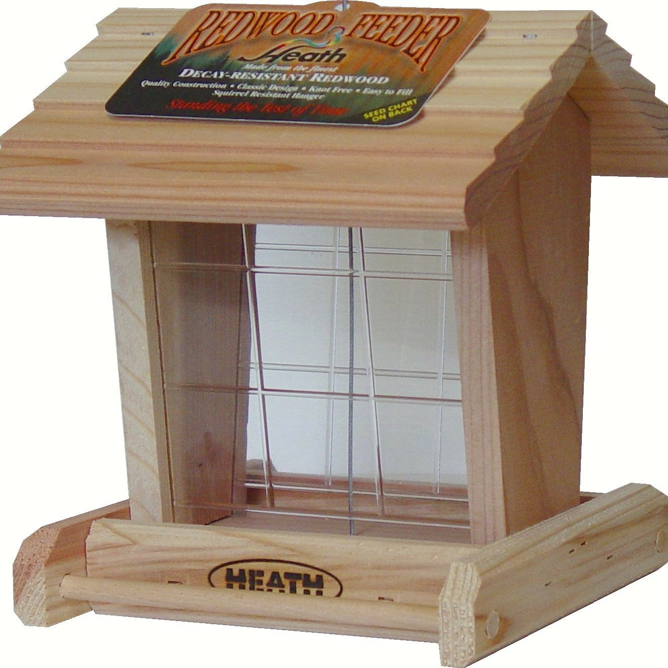 Redwood Bird Feeder