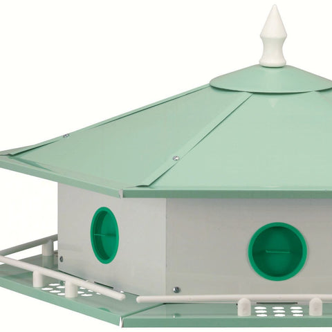6 Room Aluminum Purple Martin House