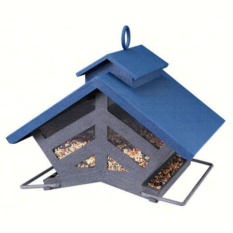 Heritage Farms Chalet 4 LB Capacity Mixed Seed Bird Feeder