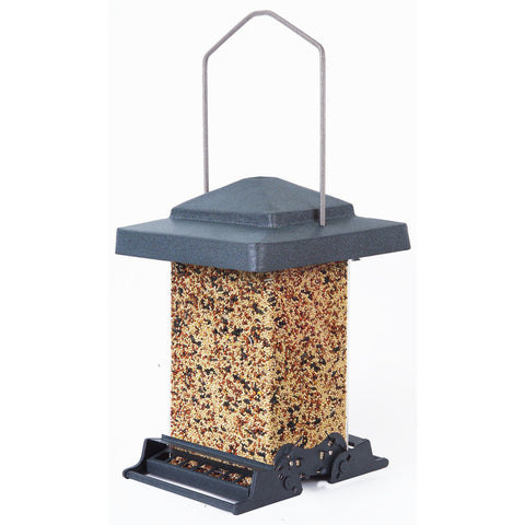 Heritage Farms Vista 6 LB Capacity Adjustable Weight Setting Bird Feeder