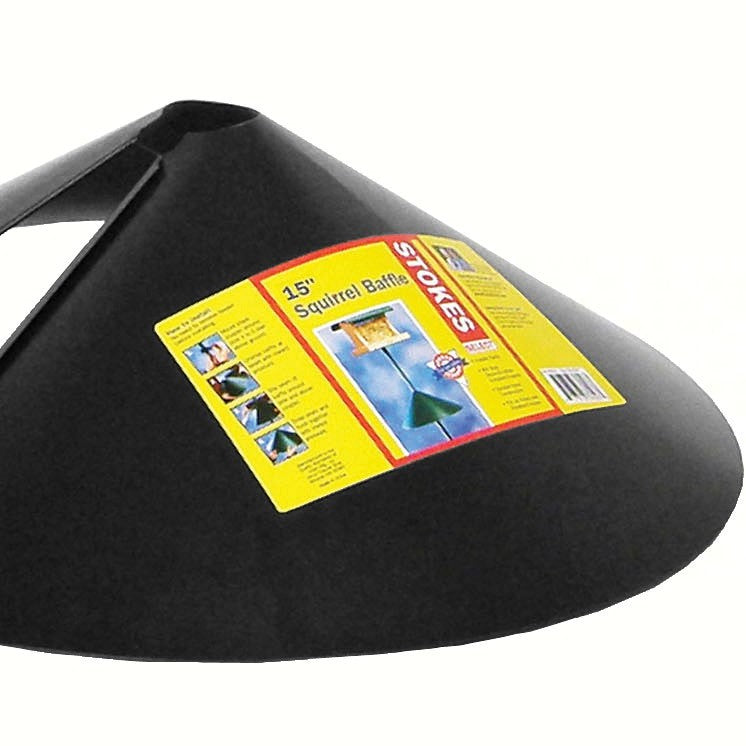 15 IN Black Squirrel Baffle